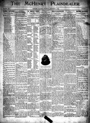 McHenry Plaindealer (McHenry, IL), 7 Dec 1899