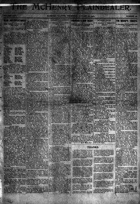McHenry Plaindealer (McHenry, IL), 18 Jan 1900