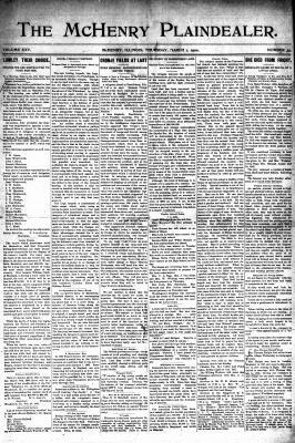 McHenry Plaindealer (McHenry, IL), 1 Mar 1900