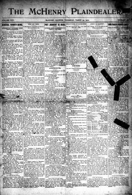 McHenry Plaindealer (McHenry, IL), 29 Mar 1900
