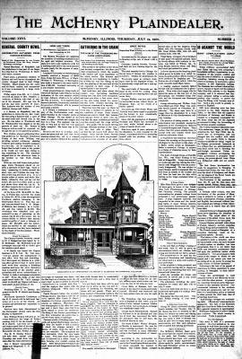 McHenry Plaindealer (McHenry, IL), 19 Jul 1900