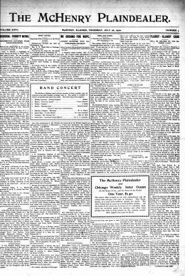McHenry Plaindealer (McHenry, IL), 26 Jul 1900