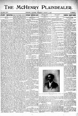 McHenry Plaindealer (McHenry, IL), 2 Aug 1900