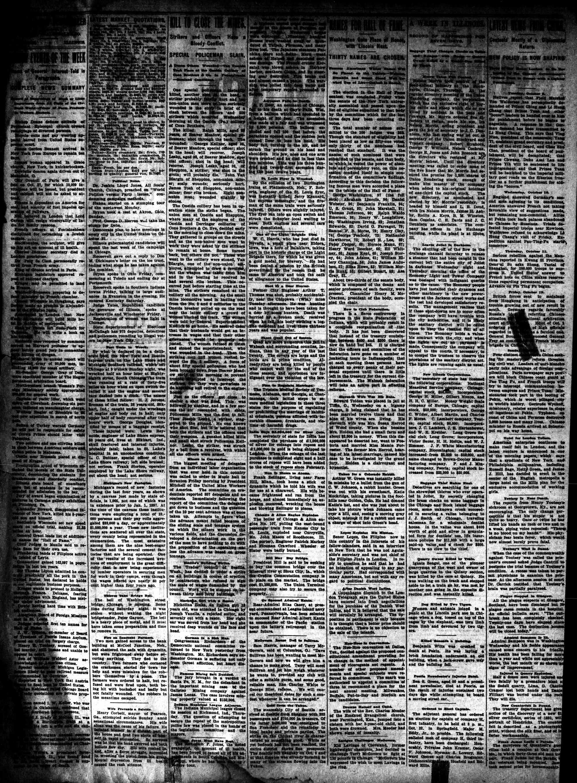McHenry Plaindealer (McHenry, IL), 18 Oct 1900