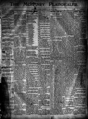 McHenry Plaindealer (McHenry, IL), 3 Jan 1901
