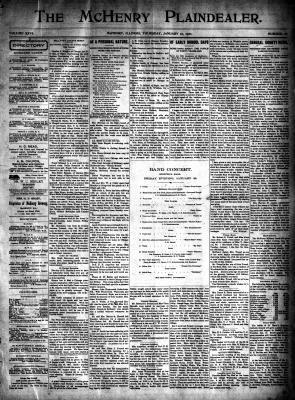 McHenry Plaindealer (McHenry, IL), 10 Jan 1901