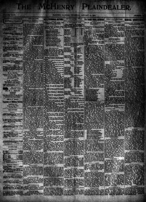 McHenry Plaindealer (McHenry, IL), 17 Jan 1901