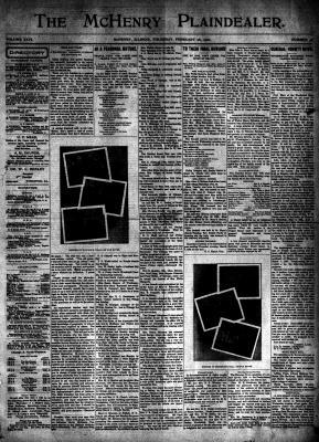 McHenry Plaindealer (McHenry, IL), 28 Feb 1901