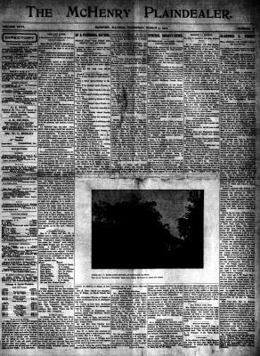 McHenry Plaindealer (McHenry, IL), 7 Mar 1901