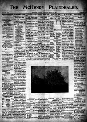 McHenry Plaindealer (McHenry, IL), 14 Mar 1901