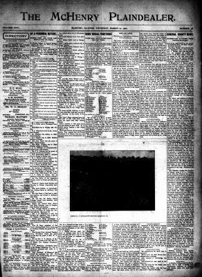 McHenry Plaindealer (McHenry, IL), 21 Mar 1901