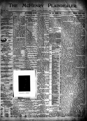 McHenry Plaindealer (McHenry, IL), 4 Apr 1901