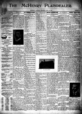 McHenry Plaindealer (McHenry, IL), 23 May 1901