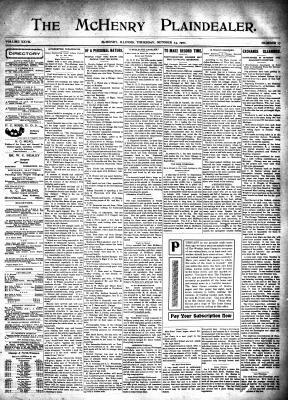 McHenry Plaindealer (McHenry, IL), 24 Oct 1901