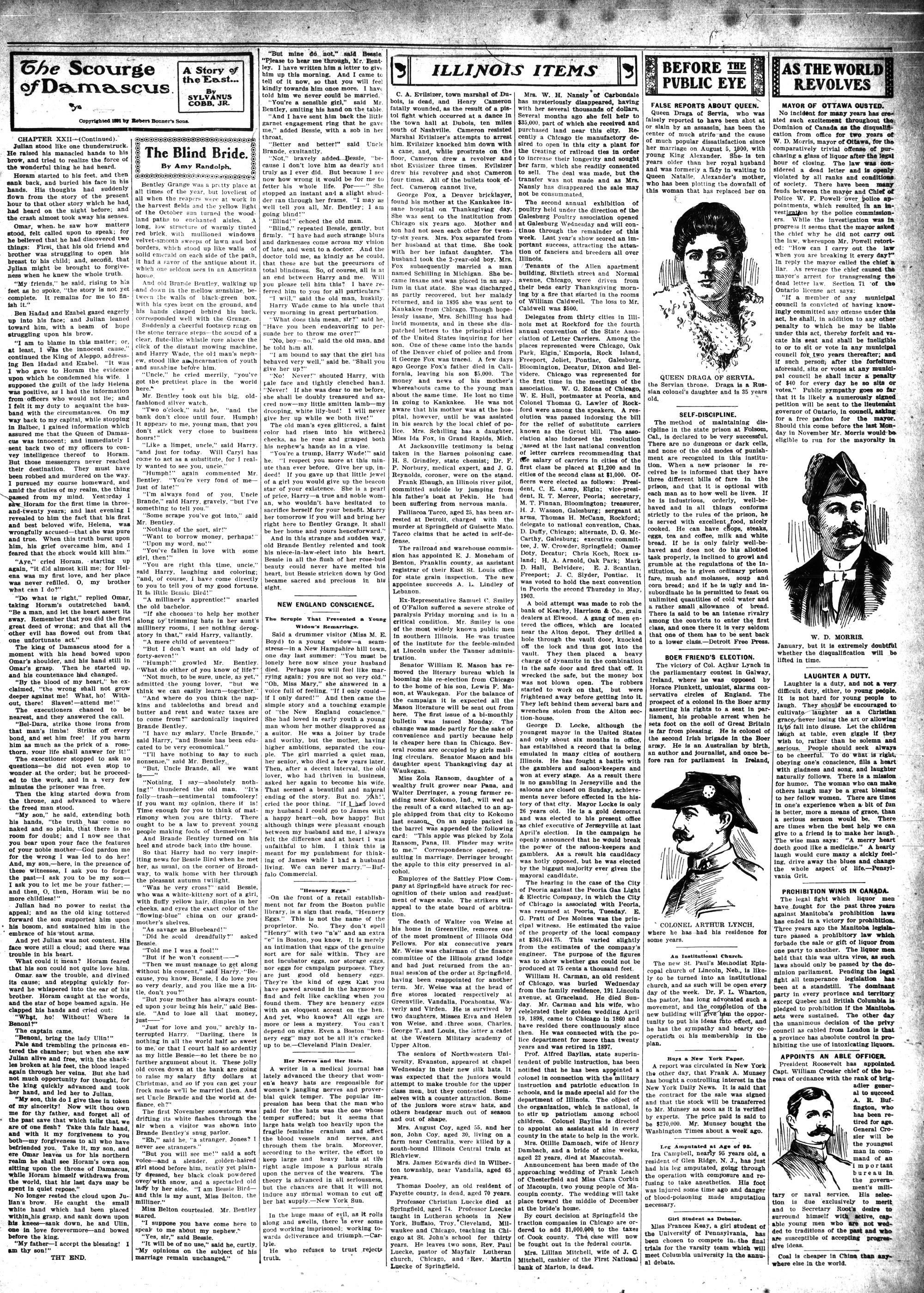 McHenry Plaindealer (McHenry, IL), 5 Dec 1901