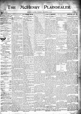 McHenry Plaindealer (McHenry, IL), 26 Dec 1901