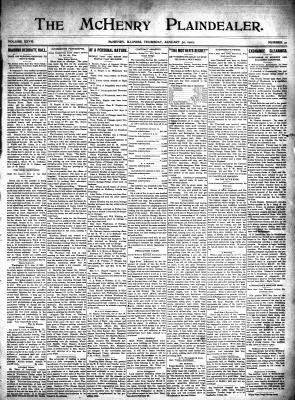 McHenry Plaindealer (McHenry, IL), 30 Jan 1902