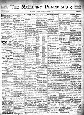 McHenry Plaindealer (McHenry, IL), 13 Mar 1902