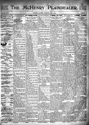 McHenry Plaindealer (McHenry, IL), 1 May 1902