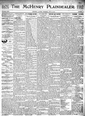 McHenry Plaindealer (McHenry, IL), 15 May 1902