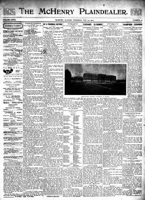 McHenry Plaindealer (McHenry, IL), 22 May 1902