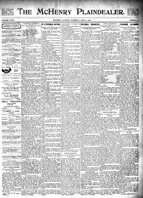 McHenry Plaindealer (McHenry, IL), 5 Jun 1902