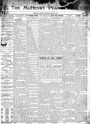 McHenry Plaindealer (McHenry, IL), 19 Jun 1902