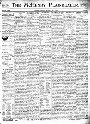 McHenry Plaindealer (McHenry, IL), 3 Jul 1902
