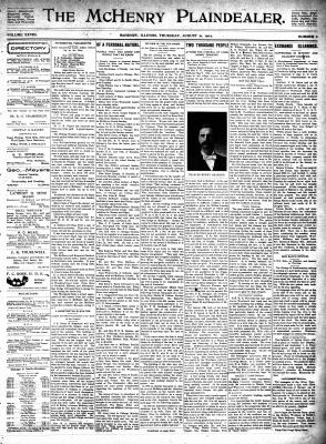 McHenry Plaindealer (McHenry, IL), 21 Aug 1902