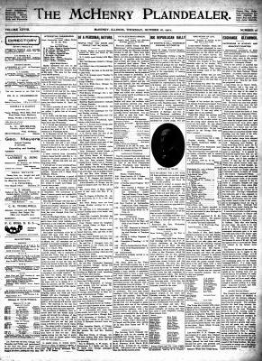 McHenry Plaindealer (McHenry, IL), 16 Oct 1902