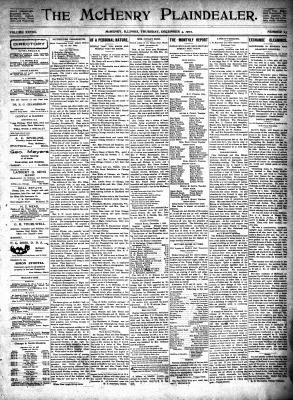 McHenry Plaindealer (McHenry, IL), 4 Dec 1902