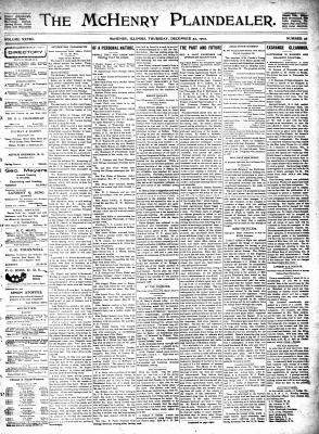 McHenry Plaindealer (McHenry, IL), 25 Dec 1902