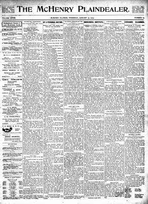 McHenry Plaindealer (McHenry, IL), 15 Jan 1903