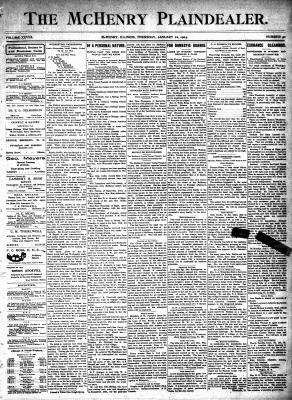 McHenry Plaindealer (McHenry, IL), 22 Jan 1903