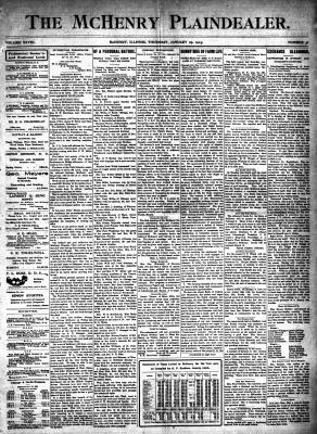 McHenry Plaindealer (McHenry, IL), 29 Jan 1903