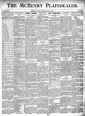 McHenry Plaindealer (McHenry, IL), 7 May 1903