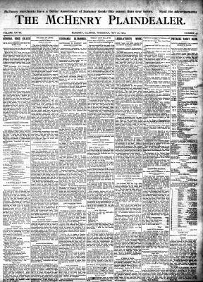 McHenry Plaindealer (McHenry, IL), 21 May 1903