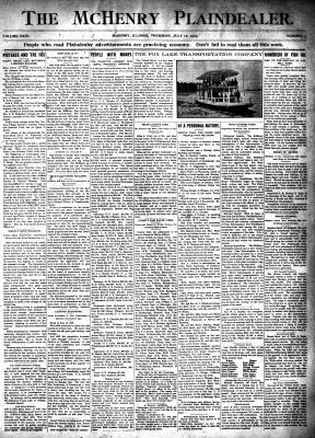 McHenry Plaindealer (McHenry, IL), 16 Jul 1903