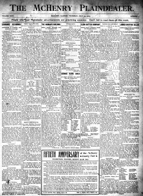 McHenry Plaindealer (McHenry, IL), 23 Jul 1903