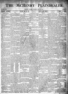 McHenry Plaindealer (McHenry, IL), 30 Jul 1903