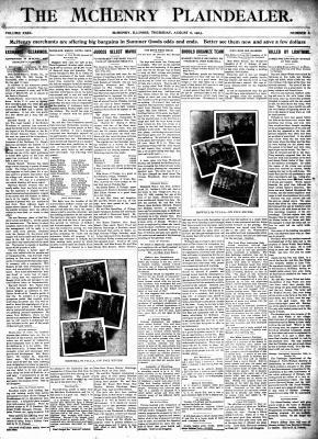 McHenry Plaindealer (McHenry, IL), 6 Aug 1903