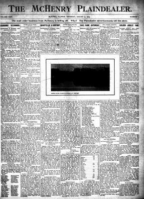 McHenry Plaindealer (McHenry, IL), 13 Aug 1903