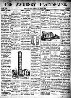 McHenry Plaindealer (McHenry, IL), 3 Sep 1903