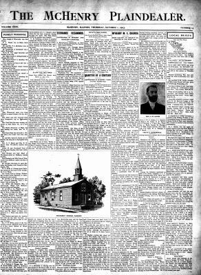McHenry Plaindealer (McHenry, IL), 1 Oct 1903