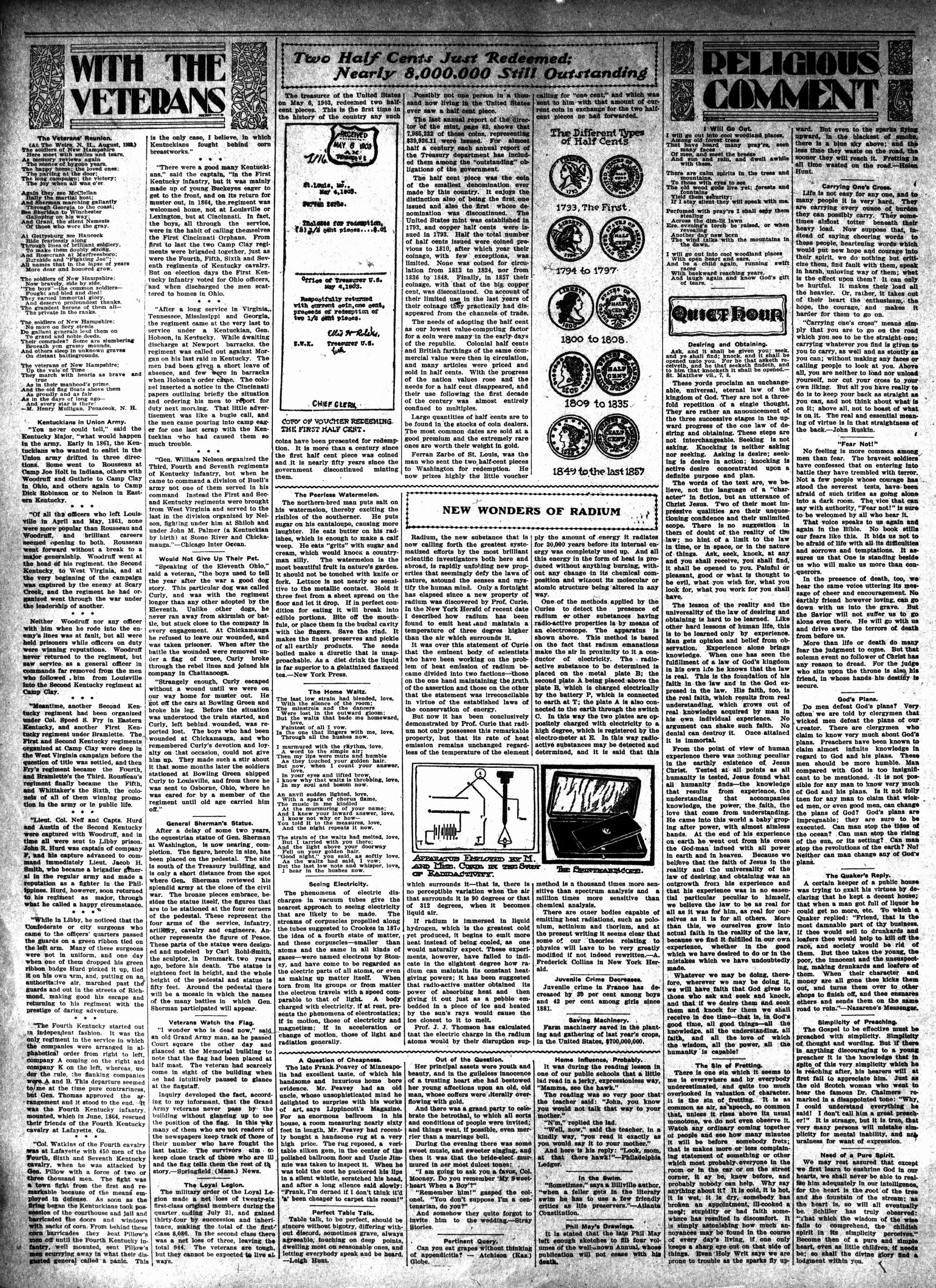 McHenry Plaindealer (McHenry, IL), 15 Oct 1903