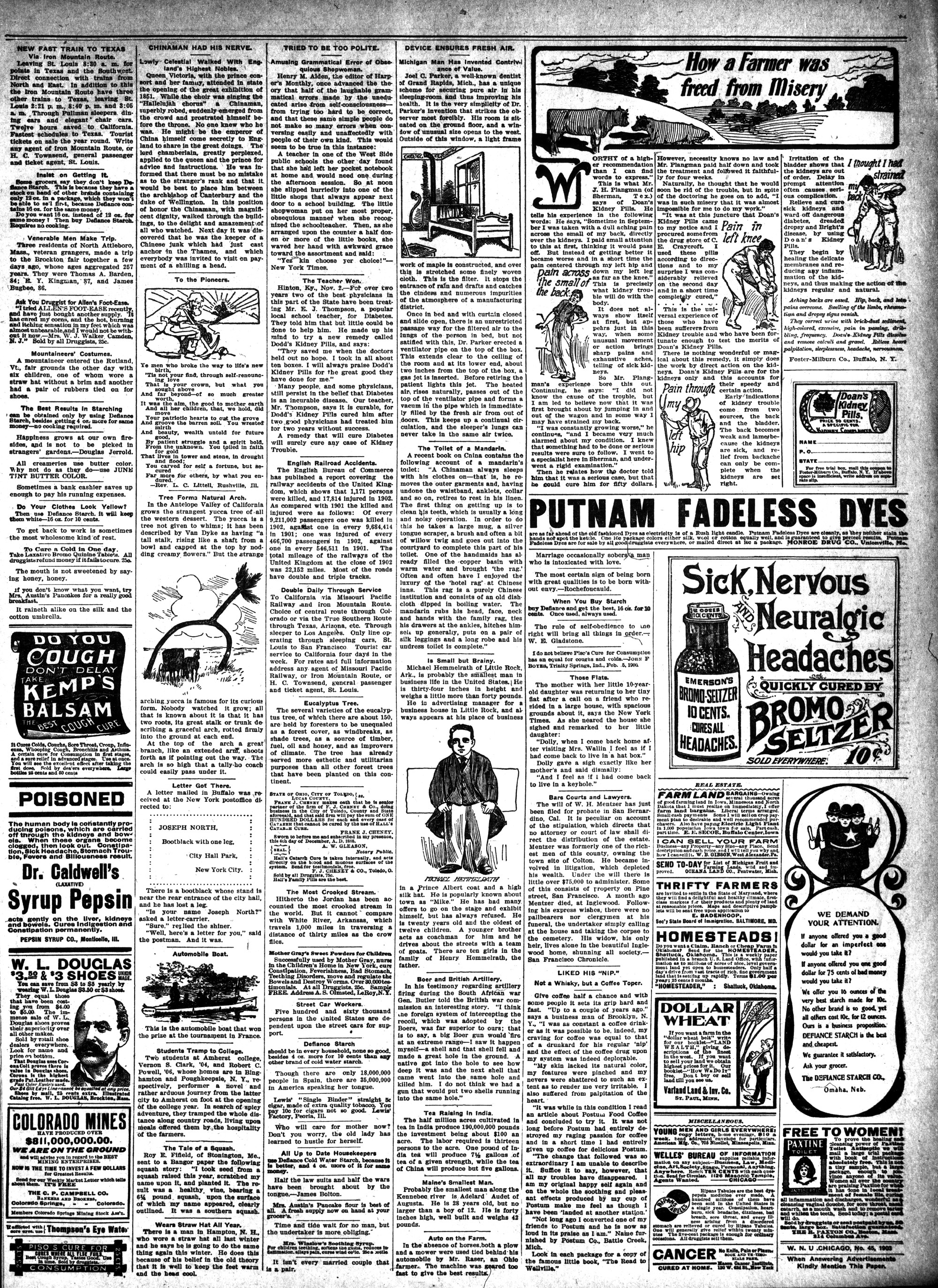 McHenry Plaindealer (McHenry, IL), 5 Nov 1903