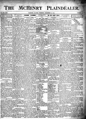 McHenry Plaindealer (McHenry, IL), 17 Dec 1903