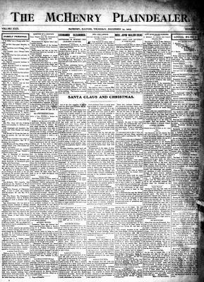McHenry Plaindealer (McHenry, IL), 24 Dec 1903