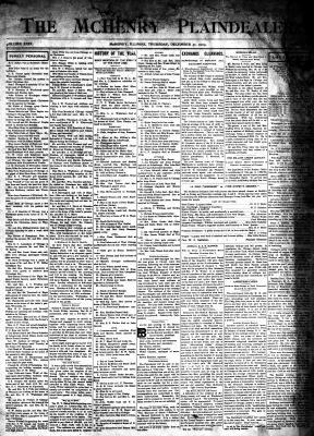 McHenry Plaindealer (McHenry, IL), 31 Dec 1903