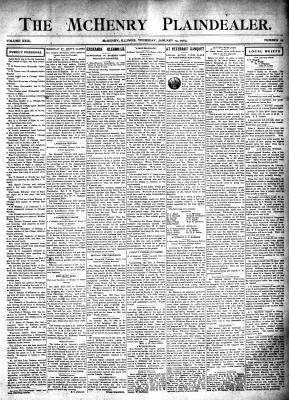 McHenry Plaindealer (McHenry, IL), 14 Jan 1904
